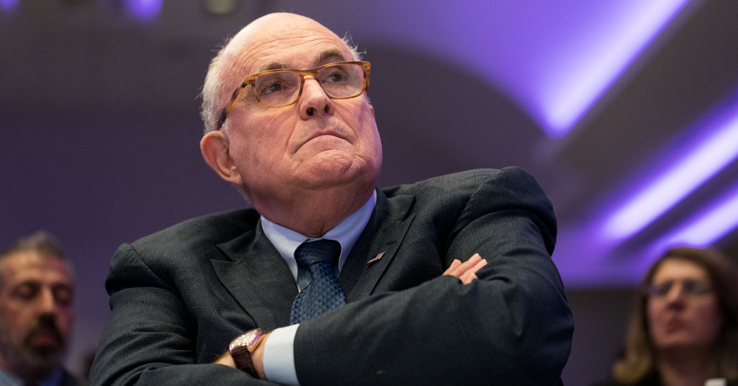 Giuliani Resigns From Private Law Firm Citing Mueller Probe Pressures