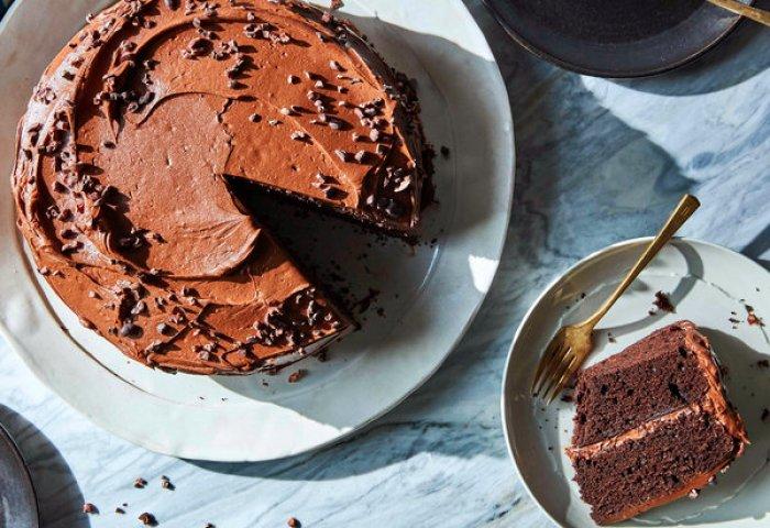 Chocolate Chocolate Birthday Cake Recipe Nyt Cooking