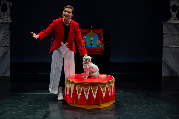 Review Isabella Rossellini as Ringmaster in Link Link