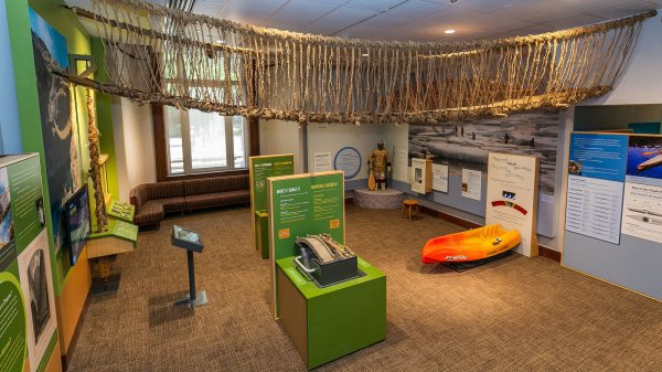 Youth Center American Indian Museum Focuses