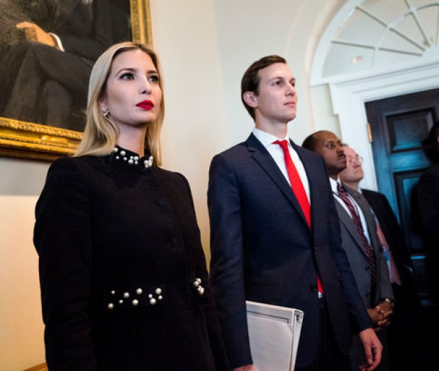 Image Investment Vehicles Owned By Jared Kushner And Ivanka Trump