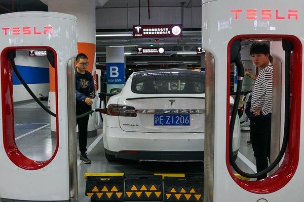 特斯拉的「小目標」:在中國年產50萬輛電動車 - 紐約時報中文網