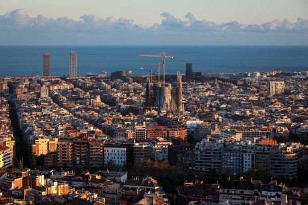 El atardecer en BarcelonaCreditJack Taylor/Getty Images