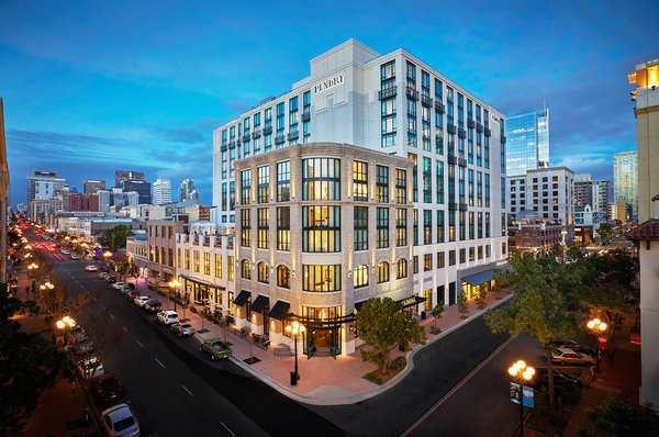 A Sleek San Diego Hotel With a Focus on Food  The New York Times