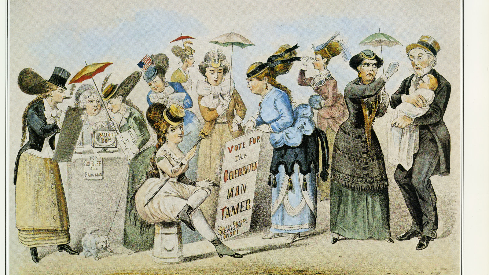 These Rebel Women Sought Equality In 19th Century New