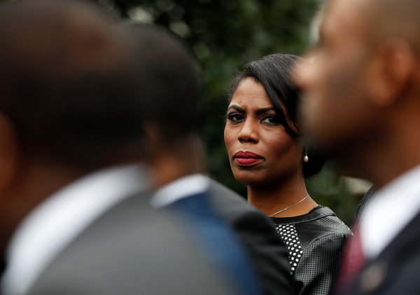 Trump Campaign Says It Has Filed Case Against Omarosa Manigault Newman  The New York Times