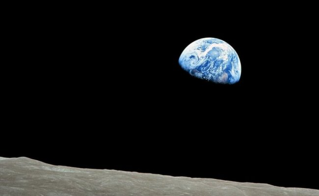 Opinion A First Glimpse Of Our Magnificent Earth Seen