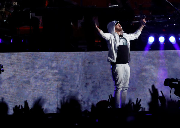 Eminem tops himself and the billboard chart with surprise  kamikaze also rh nytimes