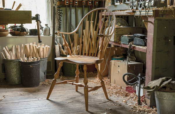 folding chair jokes resin wicker chairs home depot the craftsman still making windsor by hand new york times