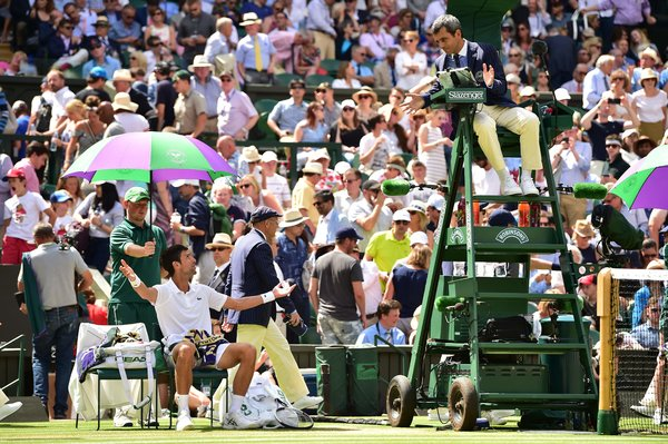 tennis umpire chair hire barber parts are women penalized more than men in data on fines says no noare