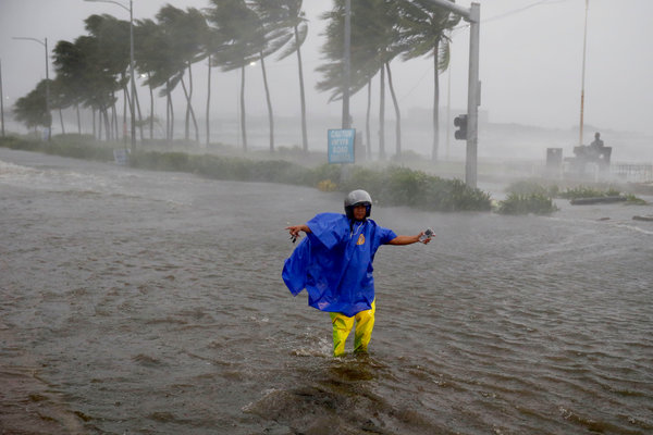 Wreaking Havoc Deadly Storm Cuts Through The Philippines
