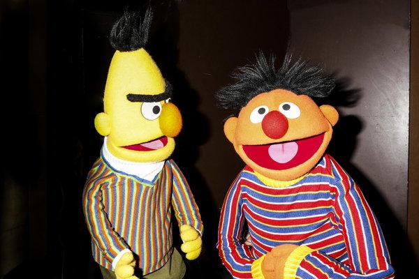 Bert Sesame Angry Street
