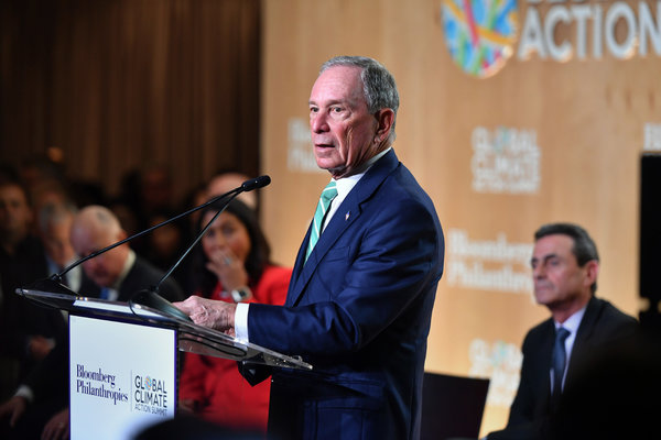 After Hints Of A Presidential Run Bloomberg Switches To
