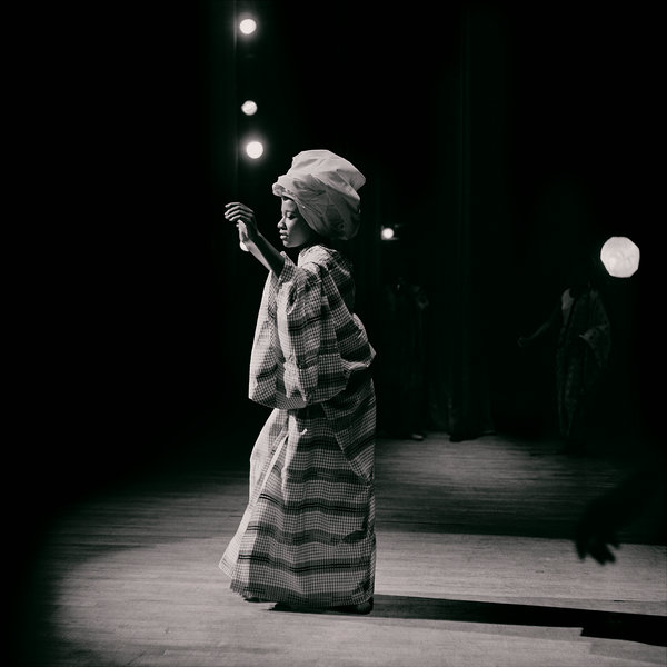 Untitled (Pat on Stage at Apollo Theater), 1968