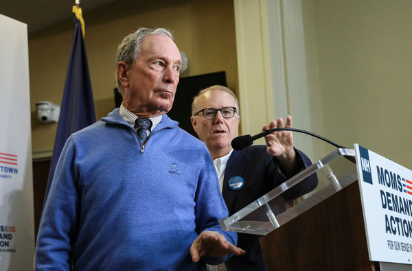How Michael Bloomberg Used His Money To Aid Democratic