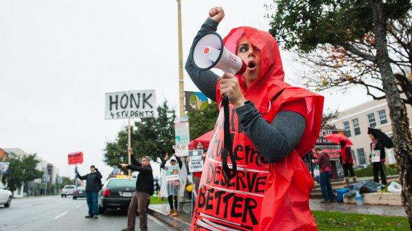 Democrats United Teacher Strikes. In