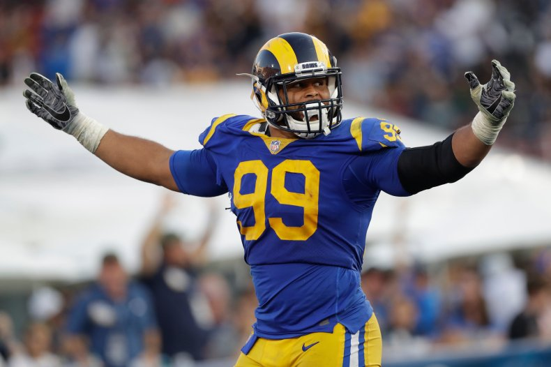 Aaron Donald Doesn't Look Like a Defensive Tackle. So He Reinvented the Position. - The New York Times