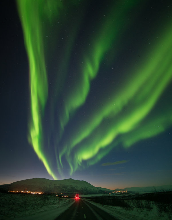 Viewing the Northern Lights Its Almost Like Heavenly