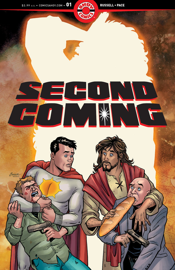 comic book with jesus