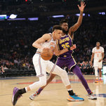 'hello, Kevin Knox.' A Knicks Rookie Breaks Out.