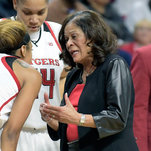 Rutgers Bows Out Without Its 71-year-old Coach. She Says She'll Be Back.