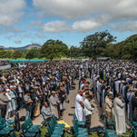Mourners From Far And Wide Honor The Dead In Christchurch, New Zealand