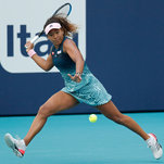 Miami Open: Osaka Stunned; Williams Withdraws; Federer Holds On