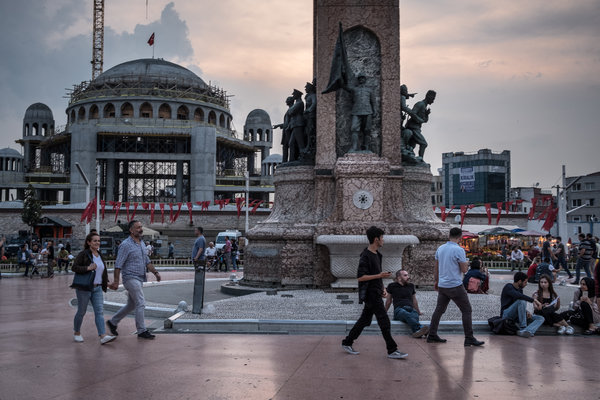 In Istanbul Erdogan Remakes Taksim Square A Symbol Of