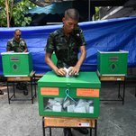 In Thai Elections, Military Party Takes The Lead, Upending Polls