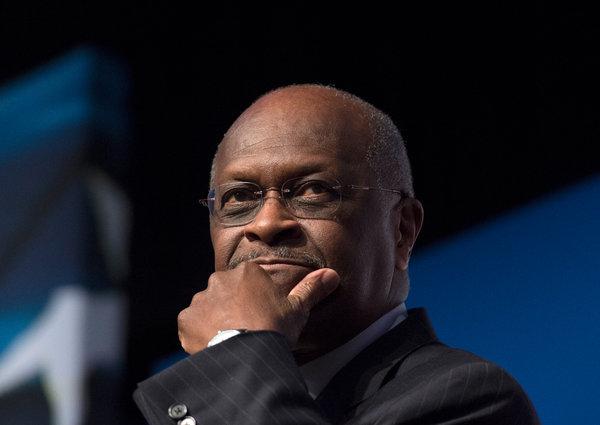 Trump Says He Wants Herman Cain Former Pizza Executive