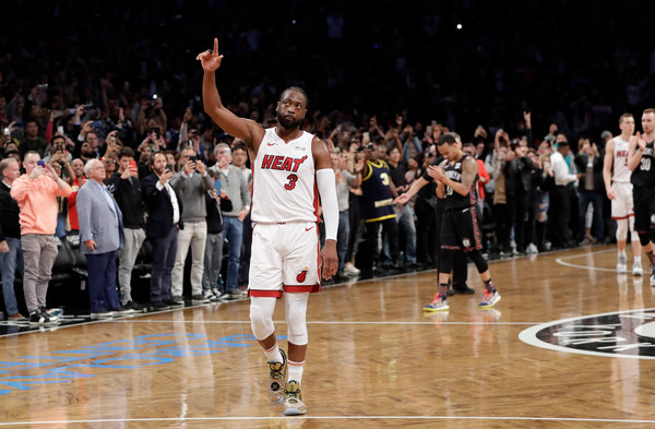 Dwyane Wade Bows Out Once Again And Always A Heat Player