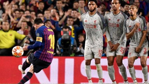 Two Goals and Too Good: Messi Carries Barcelona Past ...