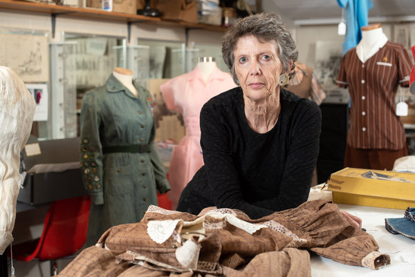 Kiki Smith, the Smith professor who started the Historic Clothing Collection.