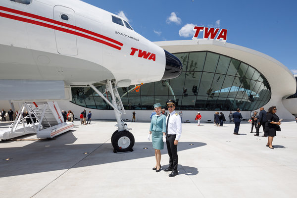 At Former Twa Terminal Your Hotel Is Now Boarding The New