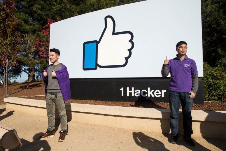 2016年Facebook总部的中国访客。本月,中国文化和旅游部发布了一份关于赴美旅游的建议。