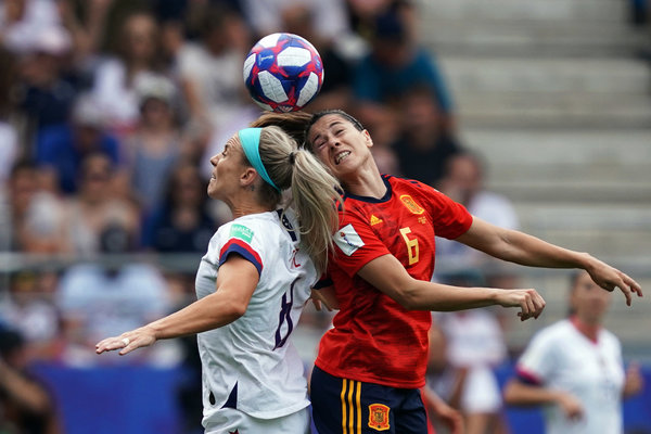 U S Holds Off An Ascendant Spain For Now At Women S