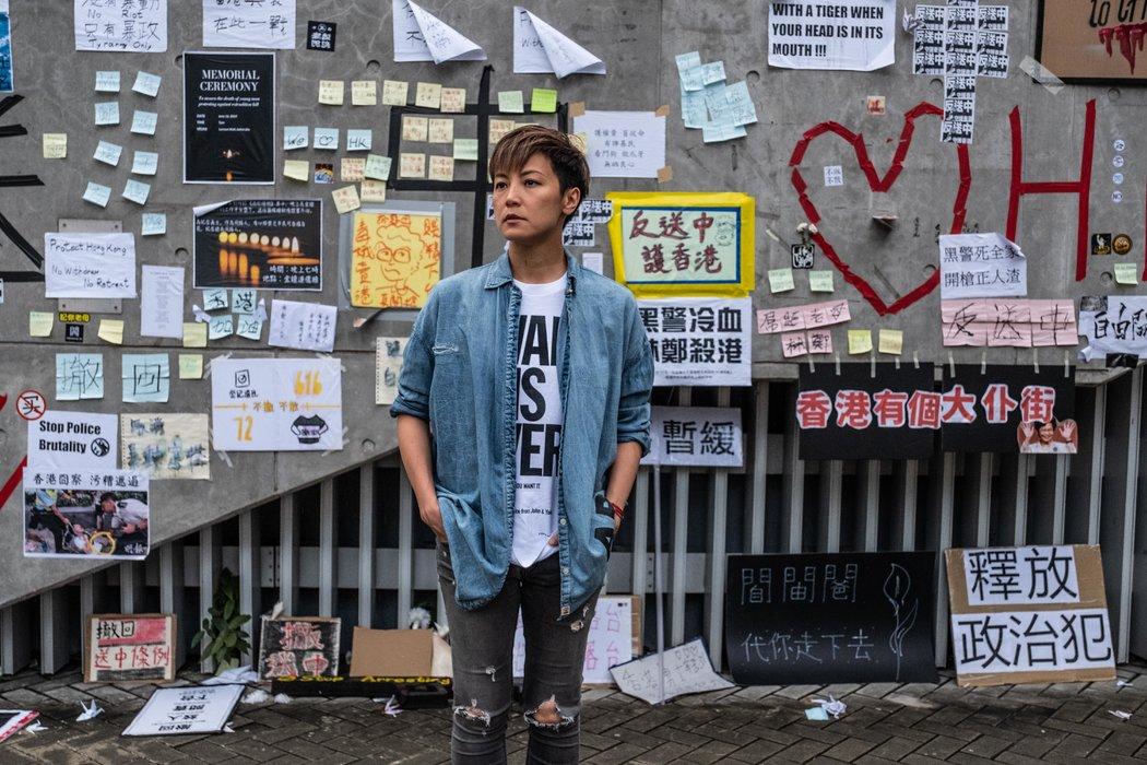對香港明星而言,支持「反送中」意味著沉重代價 - 紐約時報中文網