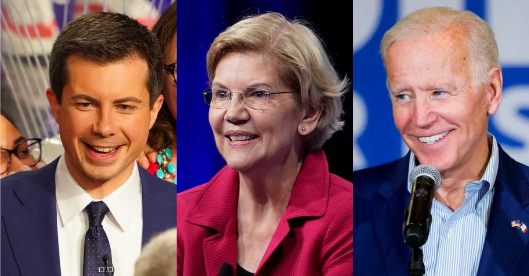 which 2020 democrats raised