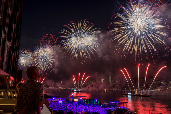 Where To Watch The Fireworks In N Y C The New York Times
