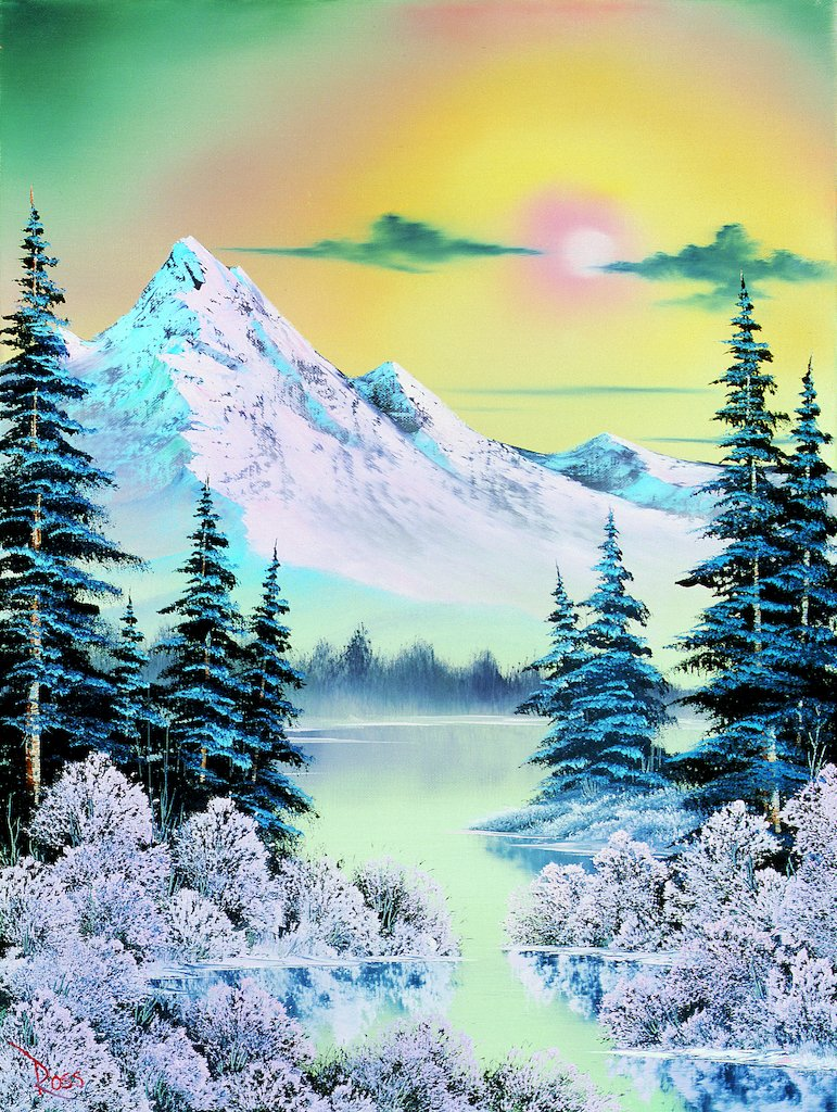Bob Ross How Did He Die : Where, Paintings?, Found, Them., Times