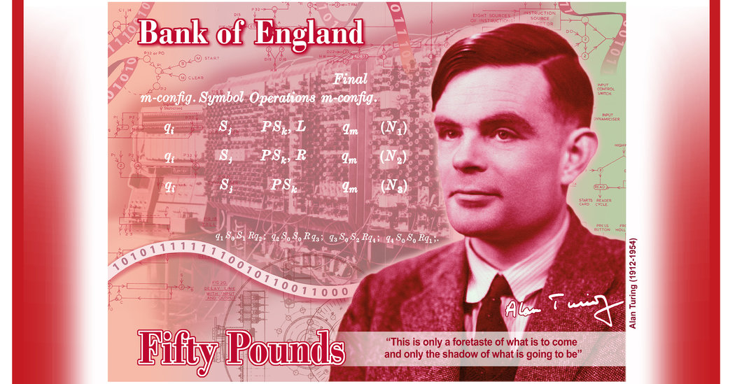 Britain's £50 Note Will Honor Computing Pioneer Alan Turing