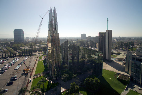 crystal cathedral in california