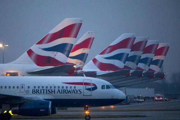 british airways suspends flights