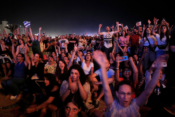 Thousands of tourists came to Israel for the Eurovision song contest, held in Tel Aviv in May, despite a call for a boycott.