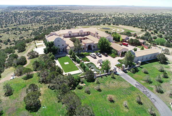 Mr. Epstein's ranch in New Mexico, which he confided to scientists and others he hoped to use as the site for seeding the human race with his DNA.