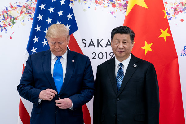 President Trump and President Xi Jinping of China in June at the Group of 20 summit in Japan.