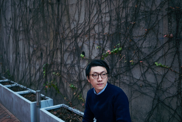 Edward Leung in 2016. Now in prison, he has become the closest thing Hong Kong's leaderless protest movement has to a guiding light.
