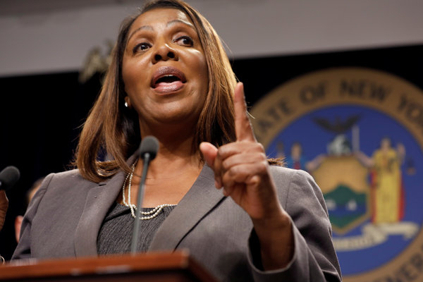 New york ag letitia james seeks to shut down nra in lawsuit alleging financial crimes. New York Subpoenas Banks And Financial Advisers For Sackler Records The New York Times