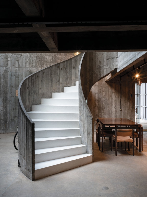 The Unexpectedly Tropical History Of Brutalism The New York Times   Wood And Concrete Stairs   House   Internal   Glass   Small Space   Pinterest