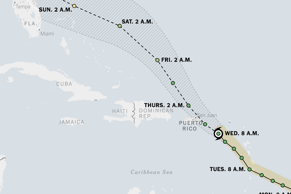 Tropical Storm Dorian to Rattle Puerto Rico: Live Updates